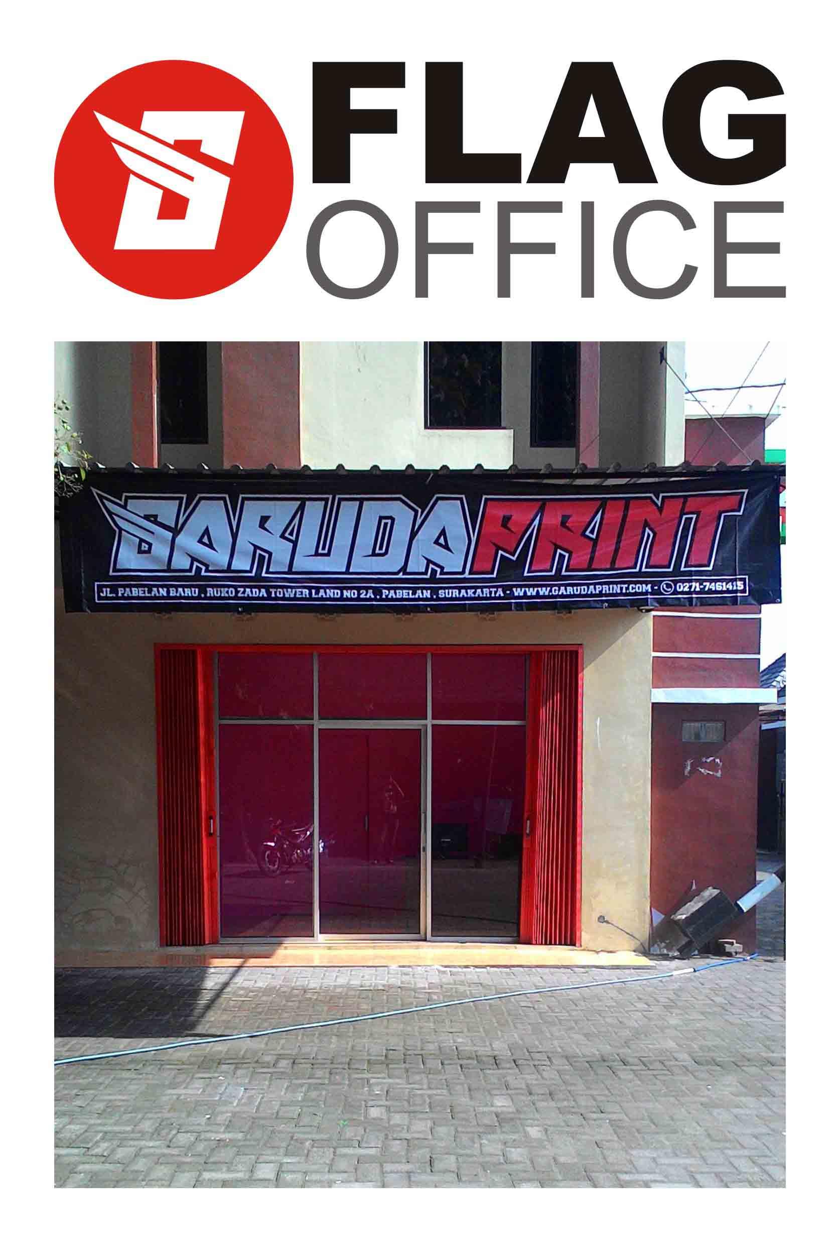 kantor garuda print - pesan baju seragam badminton