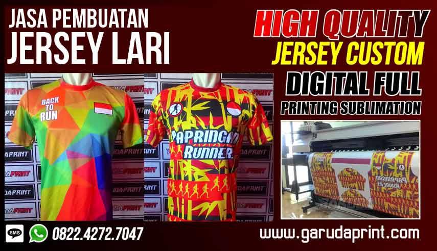 Bikin Jersey Lari Online