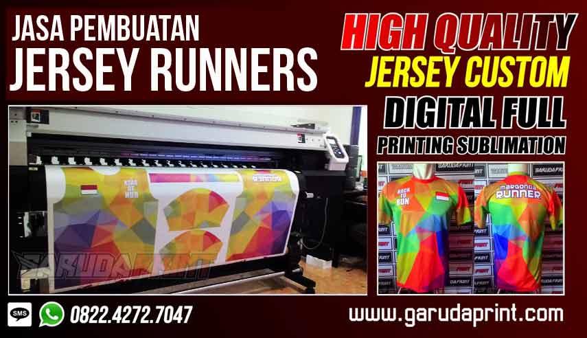Tempat Konveksi Jersey Lari Printing