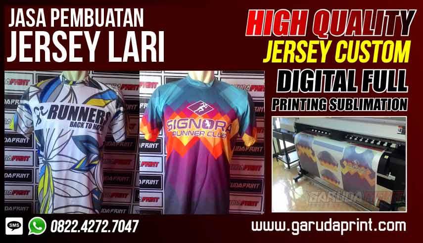 Bikin Baju Lari Full Print