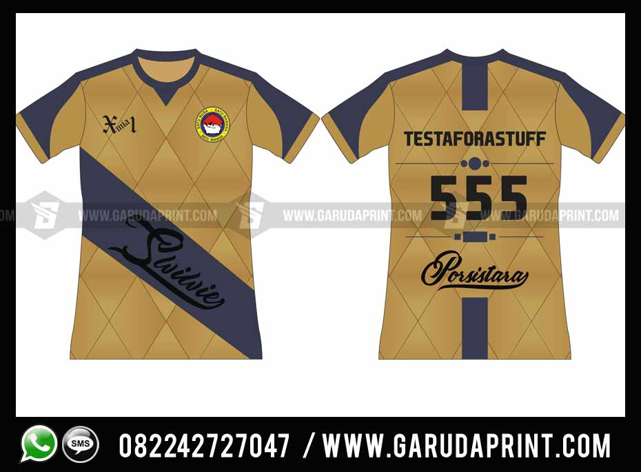 Pembuatan Kaos Olahraga Printing SMA Taruna Nusantara Magelang