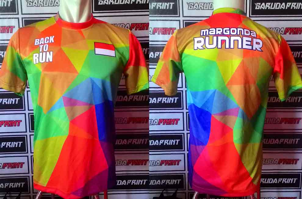 Baju Lari Custom