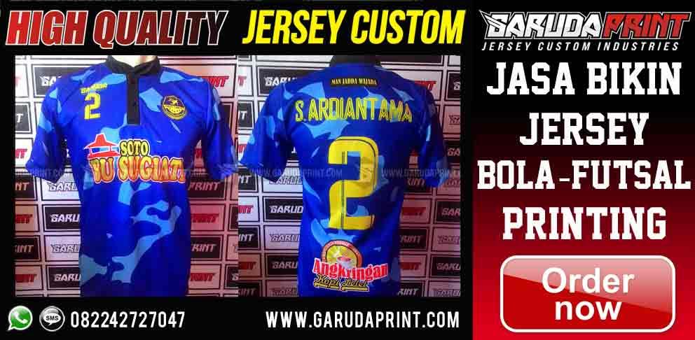 Bikin Jersey Printing di Banyuwangi dengan Harga