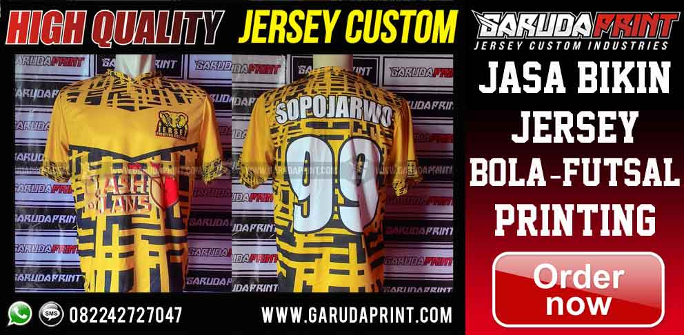 jasa Pembuatan Jersey Printing di Lamongan