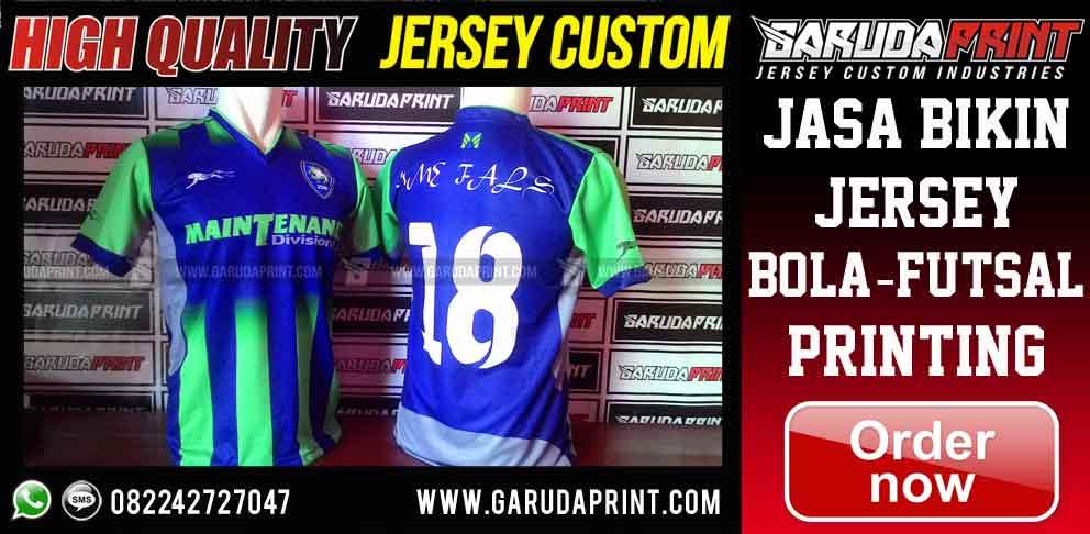 pembuatan jersey printing di Banjarnegara - Jawa Tengah