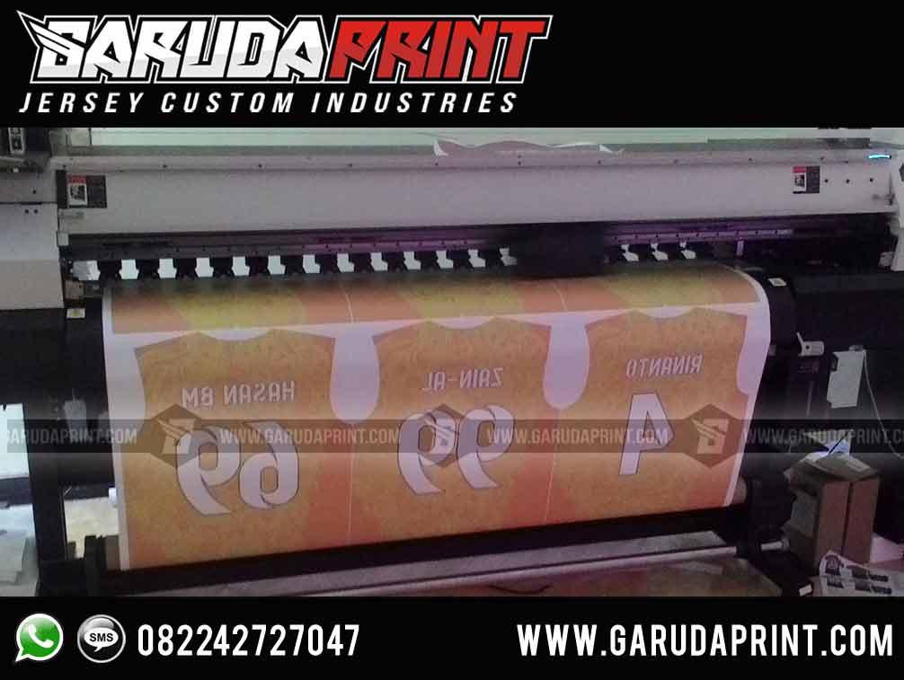 Pembuat jersey baju printing di Jepara