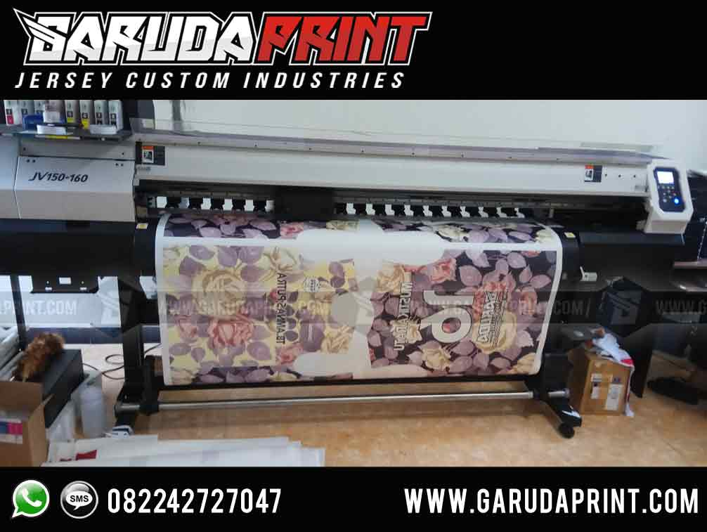 Bikin Jersey Printing Custom Berkualitas Terbaik di Palopo