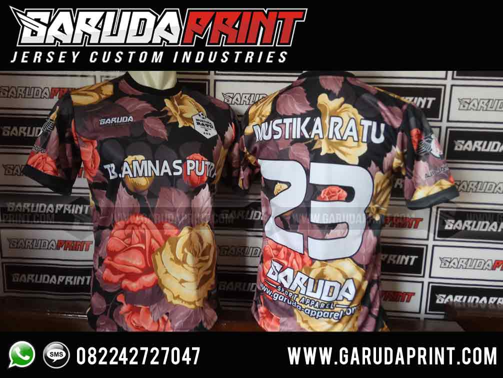 Bikin baju futsal printing di Palopo