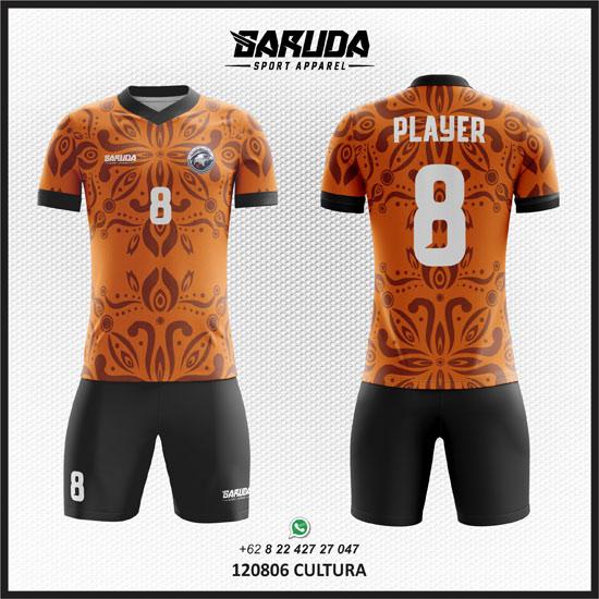 Desain Kaos Futsal Sepakbola Cultura