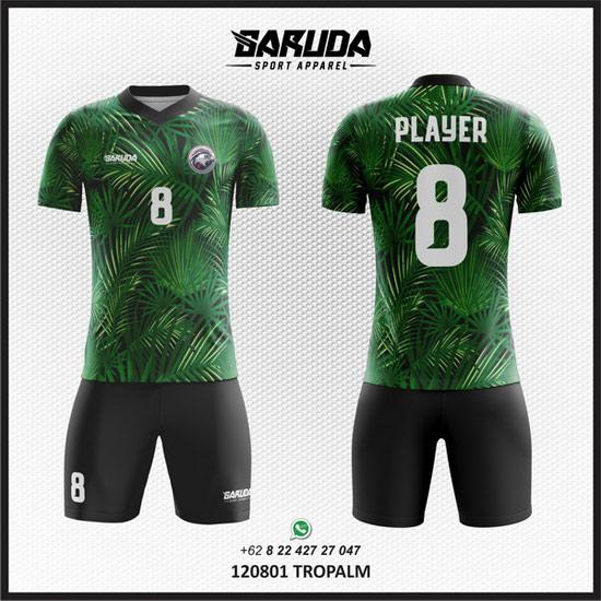Desain Kostum Futsal Tropalm hijau