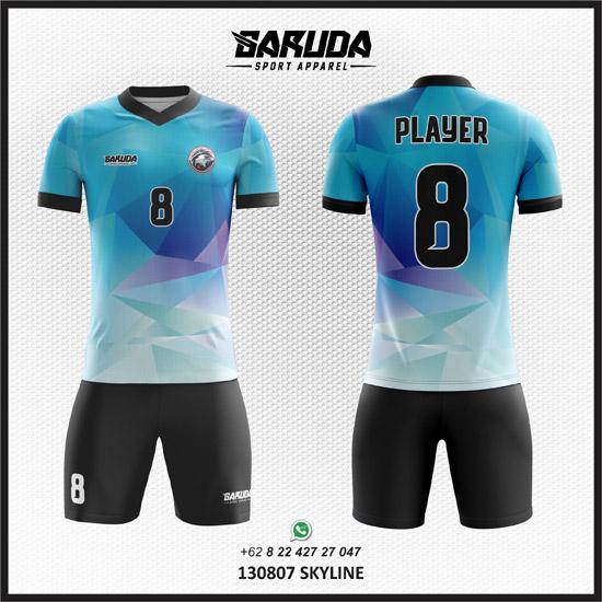 desain jersey bola futsal skyline