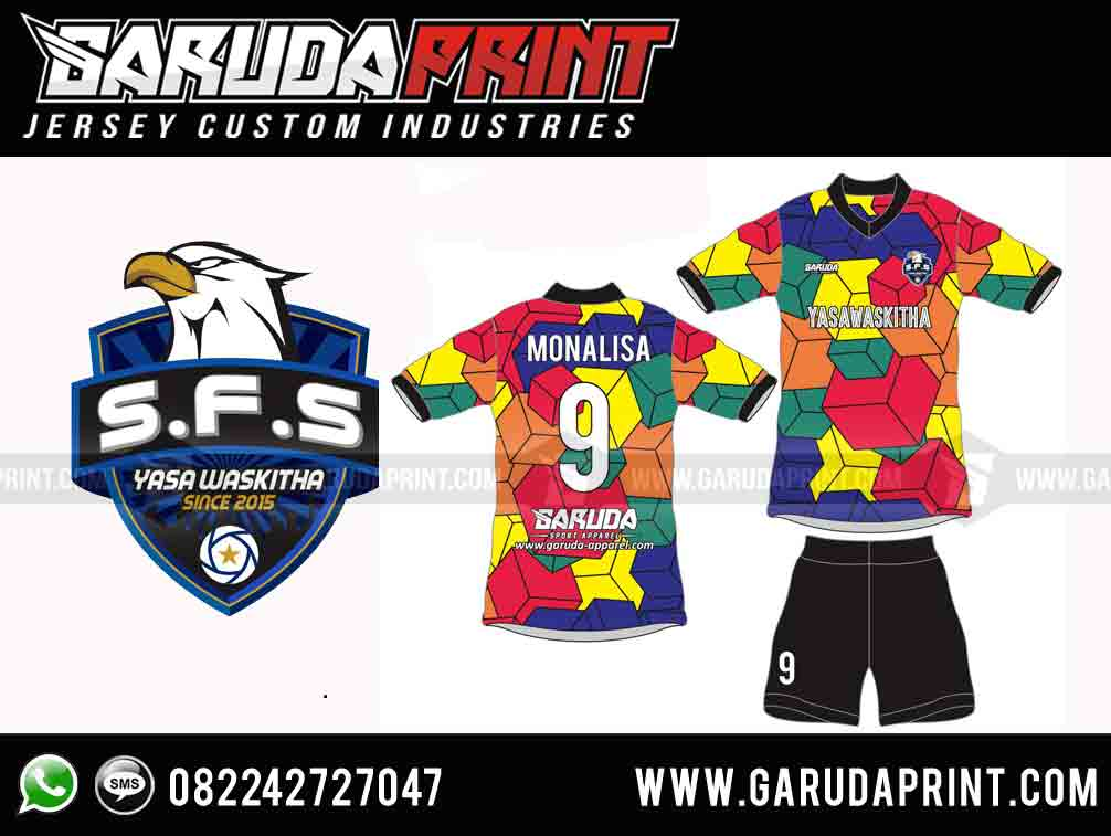 desain kaos jersey futsal terbaik