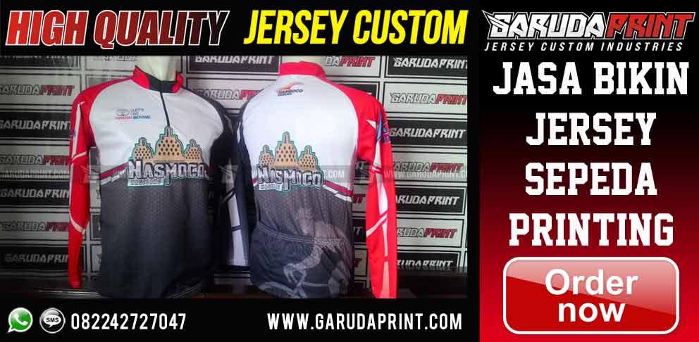 Produsen bikin Jersey Sepeda Printing Desain Custom