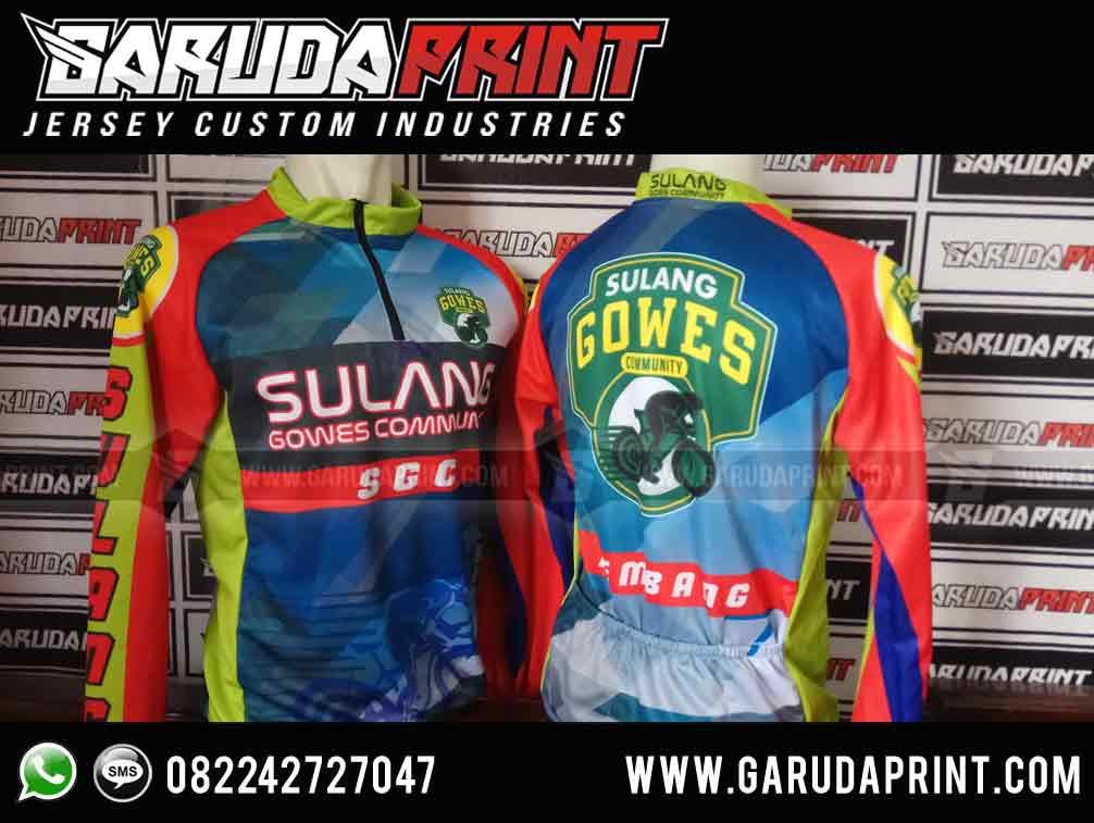 Produsen pembuatan Jersey Sepeda Gunung Gradasi warna