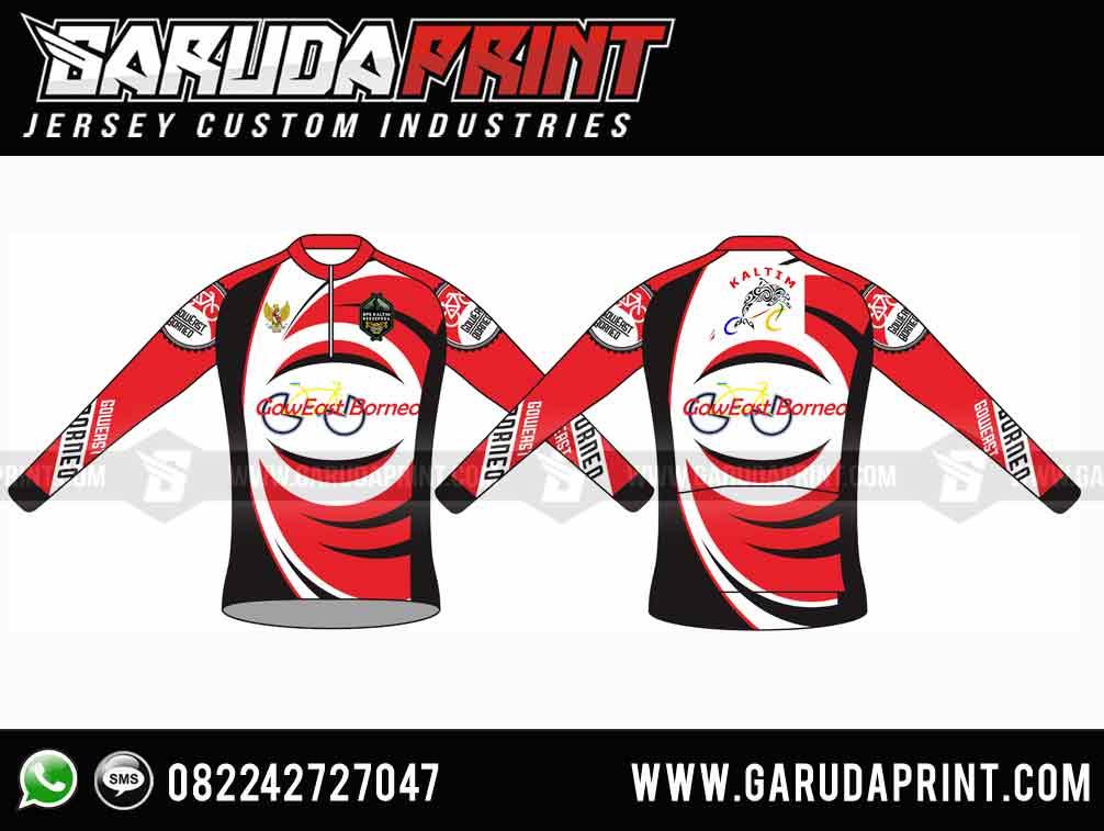 desain Kaos Sepeda Full Printing