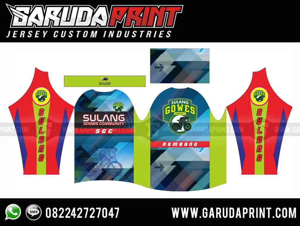 Produsen Kaos Sepeda Balap Full Printing Bisa Pesan Online