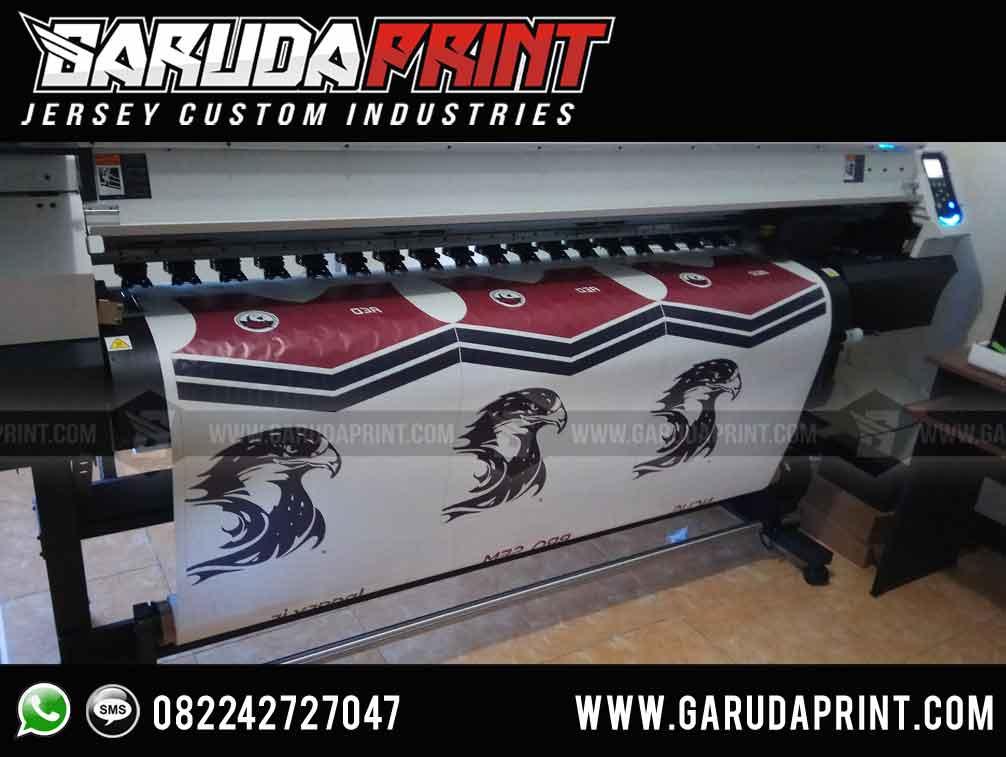 Bikin Desain Baju Bola Simple printing