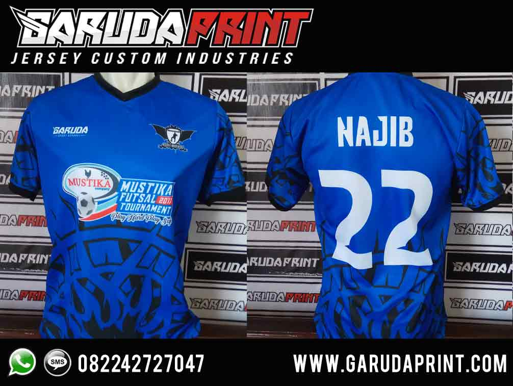 bikin desain kaos futsal sendiri full print