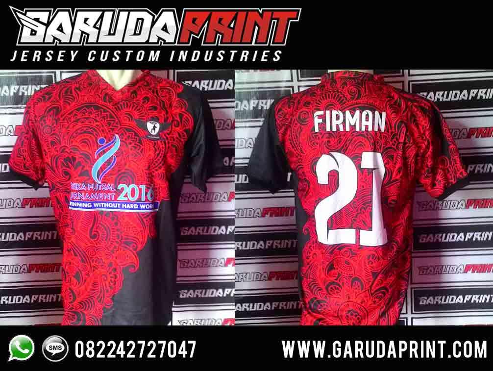 bikin kaos futsal desain batik keren