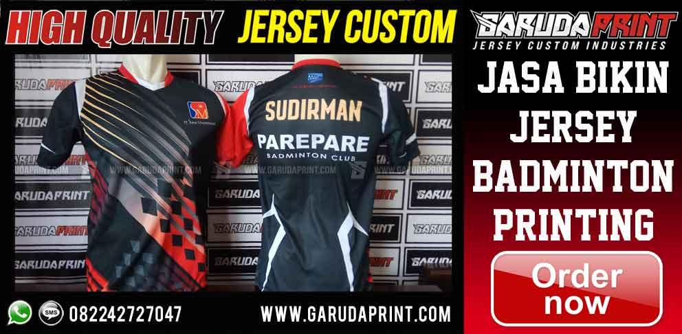 pembuatan Kaos Jersey Badminton printing Online
