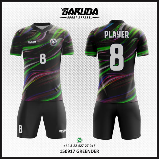 Desain Baju Futsal Printing - Greender