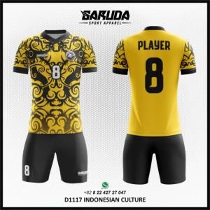 Desain Jersey Bola Futsal Indonesian Culture – Gambar Batik