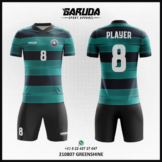 desain baju futsal modern gradasi warna