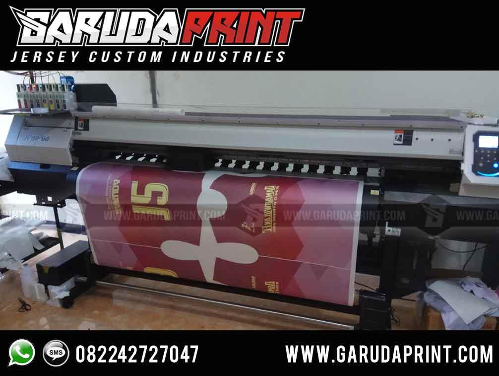 pembuatan baju bola warna pink full print