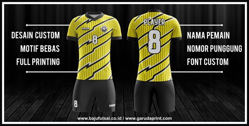 Bikin Baju Futsal Dengan Desain Kostum Futsal Terkeren