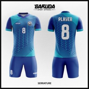 Desain Kostum Bola Futsal Serrature – Full Printing