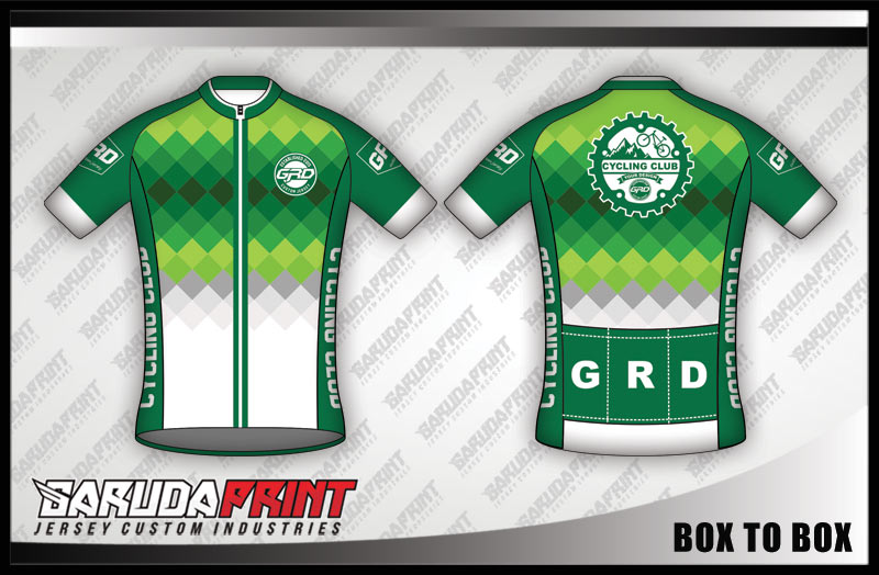 motif desain baju sepeda keren