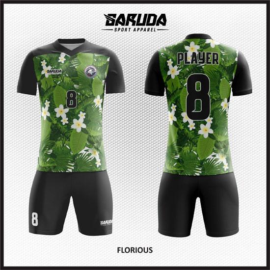 Desain Baju Futsal Printing Florious Nuansa Alam