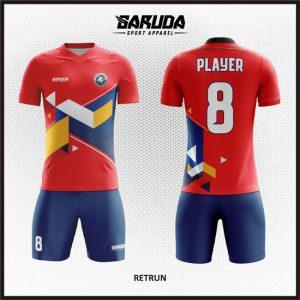 Desain Baju Futsal Printing Retrun yang Terlihat Trendy