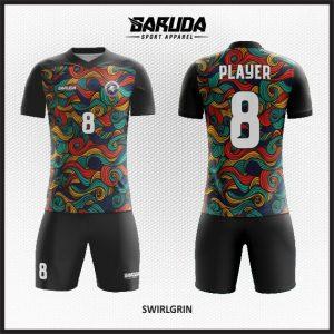 Desain Jersey  Futsal Printing  Swirlgrin Yang Menawan