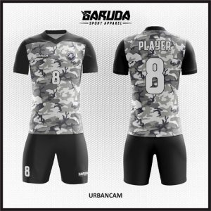 Desain Jersey Futsal Printing Urbancam Motif Camo