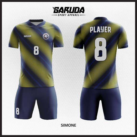 Desain Jersey Futsal Sepakbola Simone