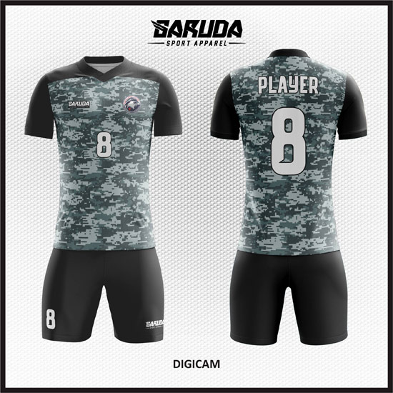 Desain Kaos Futsal Printing Digicam Motif Unik