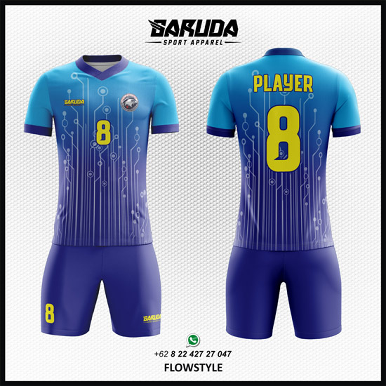 Koleksi Desain Jersey / Kaos Futsal Terbaru 2018 Jersey