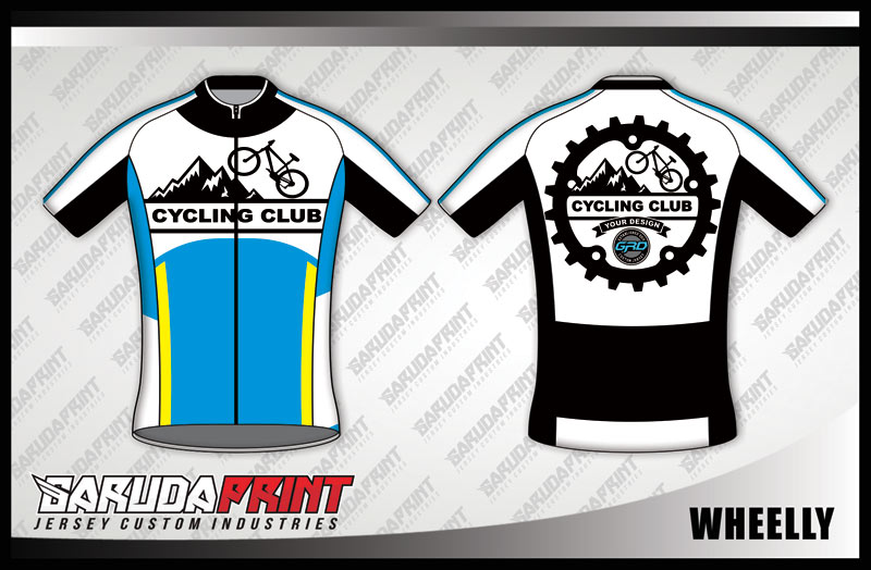 DESAIN JERSEY SEPEDA GOWES KODE WHEELLY