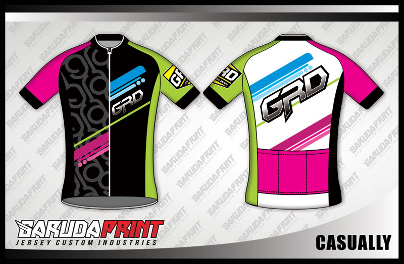 DESAIN KAOS SEPEDA GOWES CASUALLY