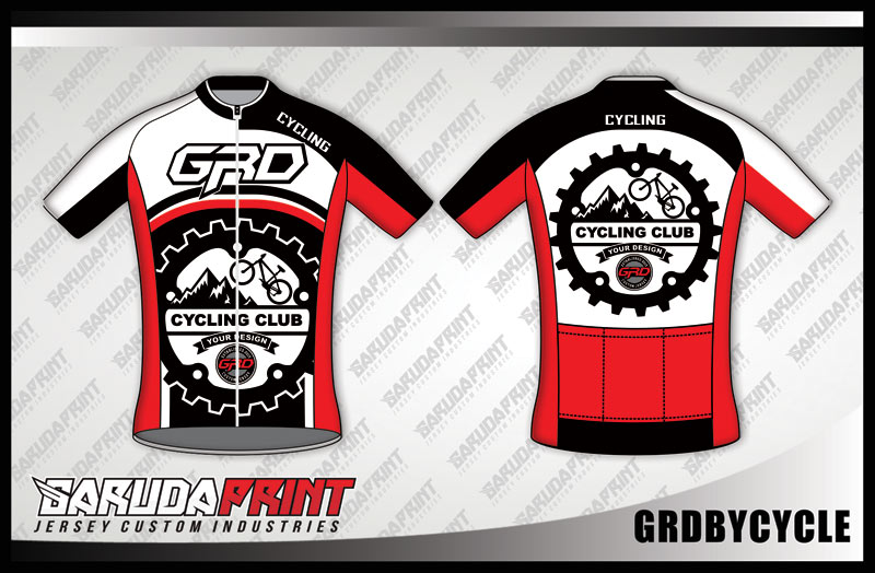 DESAIN KAOS SEPEDA GOWES CODE GRDBYCYCLE