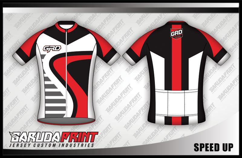 Pembuatan baju jersey untuk jenis sepeda Balap Road Bike Gowes