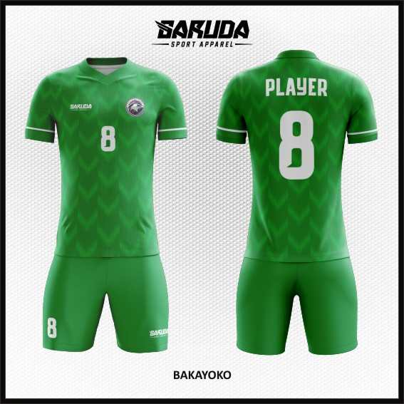 13 Desain Jersey Bola Futsal Hijau Code Bakayoko