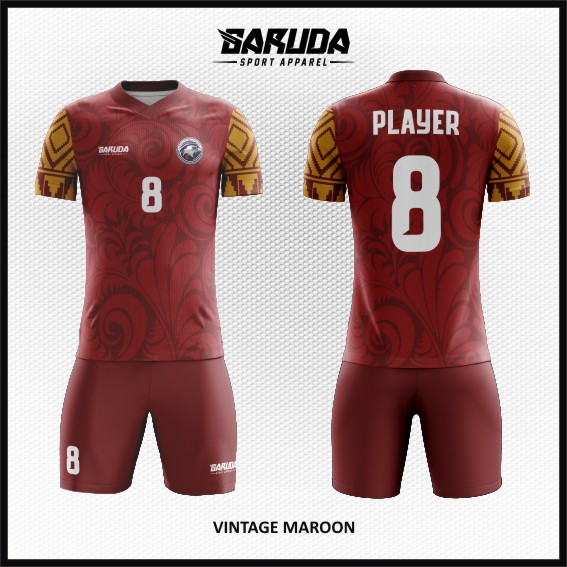 desain-jersey-futsal-warna-marun-code-vintage-maroon