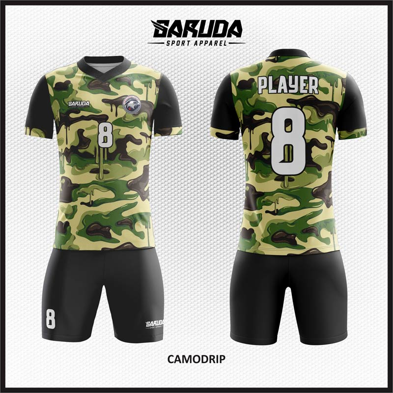 Contoh Desain Kaos: Desain Baju Futsal 80 – Blue Army