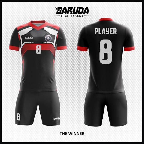 Desain Jersey Bola Futsal Kode The-Winner