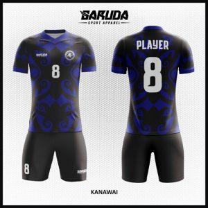 Desain Kostum Bola dan Futsal Kanawai Motif Unik