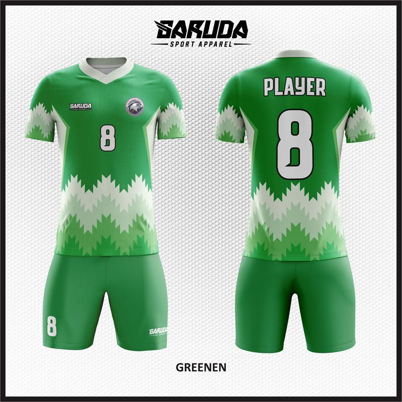 7 Desain Jersey Futsal Greenen hijau Tampil Klasik