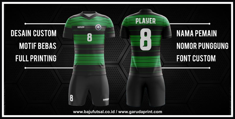 Desain Kaos Futsal Elegan Terbaik Untuk Tim Kamu
