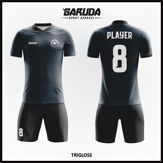 desain kostum sepakbola printing code TRIGLOSS